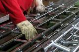 Výroba pláště (pancíře) rolovací mříže